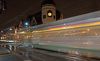 The Green Line moving through Coolidge Corner 2.jpg