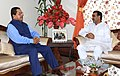The Minister of State for Agriculture, Dr. Sanjeev Kumar Balyan calling on the Chief Minister of Mizoram, Shri Lal Thanhawla, in Aizawl, Mizoram on August 18, 2015.jpg
