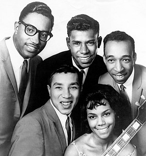 The Miracles American rhythm and blues / soul vocal group