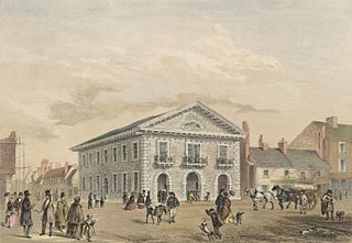 The New Market Hall At Mold, Flintshire