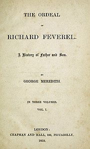 The Ordeal of Richard Feverel 1st ed.jpg