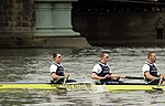 The Oxford ship's complement during The Boat Race in spring 2013 (3).JPG
