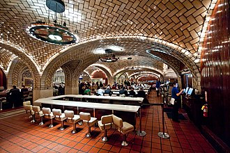 Grand Central Oyster Bar & Restaurant - Image: The Oyster Bar, Grand Central Terminal, New York City (4057303042)
