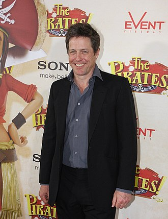 The Pirates! In an Adventure with Scientists! - Hugh Grant in April 2012 at the film's premiere in Sydney, Australia