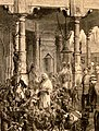 The Prince of Wales visiting the Monkey Temple, Benares - The Graphic 1876.jpg
