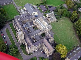 Royal High School, Bath - A view of the school from a hot air balloon (2005)