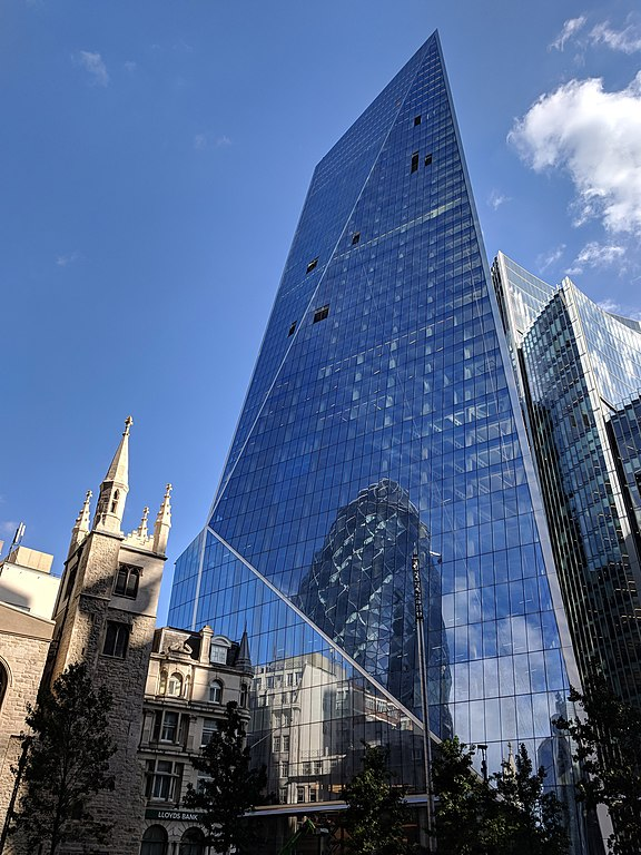 """The Scalpel"" skyscraper in London."