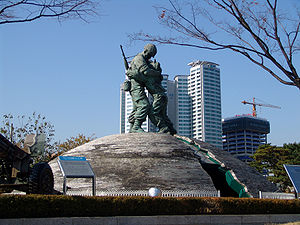 War Memorial of Korea - Statue of Brothers
