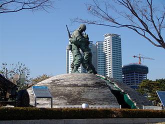 War Memorial of Korea - Statue of Brothers