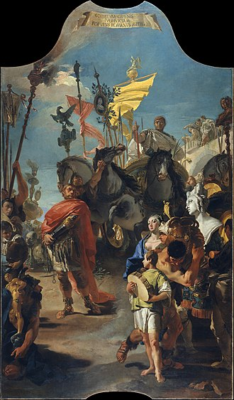 Ca' Dolfin Tiepolos - The Triumph of Marius, Metropolitan Museum of Art, New York