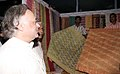 The Union Minister of State for Commerce Shri Jairam Ramesh visiting a stall at Single Country Trade Fair in Agartala, Tripura on March 17, 2007.jpg