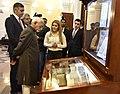 The Vice President, Shri M. Hamid Ansari at the Institute of Ancient Manuscripts, in Yerevan, Armenia on April 26, 2017.jpg