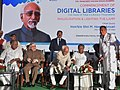 The Vice President, Shri M. Hamid Ansari inaugurating the 2nd stage of the total e-Literacy and commencement of the Digital Libraries programmes, in Kerala, Thiruvananthapuram.jpg