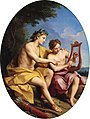 The Younger Apollo Teaching Hyacinth to Play Lyra. Louis de Boullogne.jpg