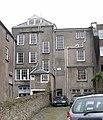 The backs of buildings in High Street, Castle Yard, Haverfordwest - geograph.org.uk - 616420.jpg