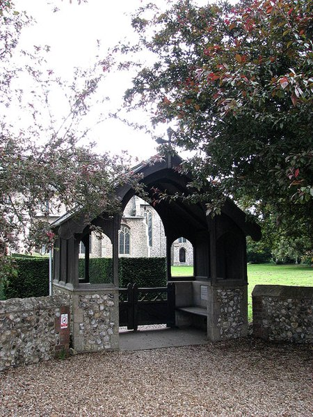 File:The church of All Saints - lych gate - geograph.org.uk - 833318.jpg