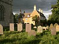 The churchyard and Old Rectory at Teigh, Rutland-geograph-2155224-by-Stefan-Czapski.jpg