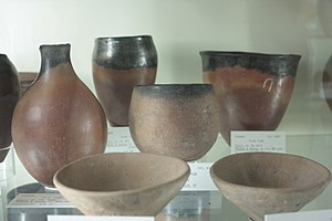Flinders Petrie - The distinctive black-topped Egyptian pottery of the PreDynastic period associated with Flinders Petrie's Sequence Dating System, Petrie Museum