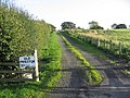 The entrance to Old Prieston from the A699 - geograph.org.uk - 259338.jpg