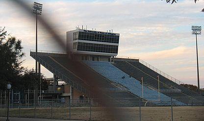 Maverick Stadium Press Box side