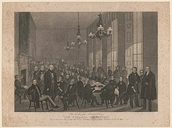 The national convention. As it met on Monday the 4th of February, 1839, at the British Coffee House