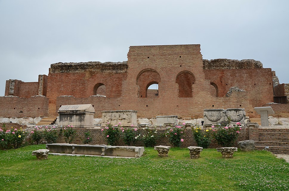 The recently restored Roman Odeon of Ancient Patrai, built before 160 AD, Patras, Greece (14037448410)