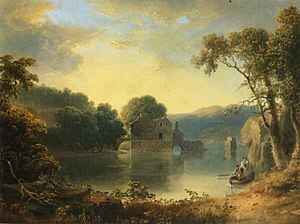 Thomas Doughty (artist) - Image: Thomas Doughty Ruins in a Landscape