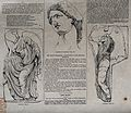 Three figure sculptures forming part of the Parthenon frieze Wellcome V0013509.jpg