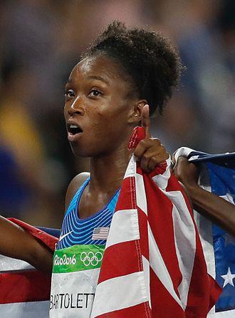 Tianna Bartoletta - Bartoletta at the 2016 Olympics