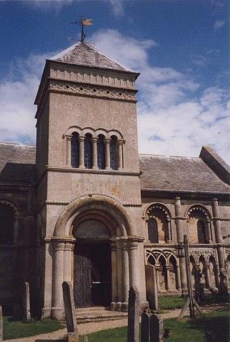 Tickencote - Church exterior