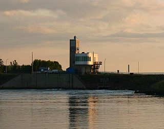 Tidal powered electricity generating station