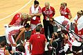 Time Out Team Talk - London 2012 Olympics Womens Basketball (Australia v Russia).jpg