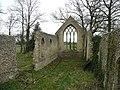 Tivetshall St. Mary church ruin 2 - geograph.org.uk - 741711.jpg