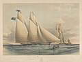 To Captain C Bulkeley Rear Commodore of the Royal Western Yacht Club This Portrait of his Schooner Yacht Peri Winner of the Gold Cups for the Years 1840 and 1841 - RMG PY8644.jpg