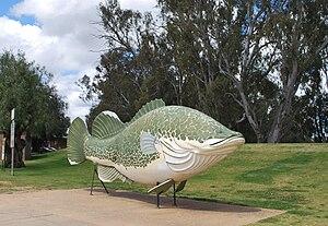 Tocumwal - Image: Tocumwal Big Cod