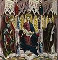 Toegeschreven aan Michael Pacher - Maria en kind met heiligen en engelen - NG5786 - National Gallery.jpg