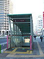 Toei-kachidoki-A3-entrance.jpg