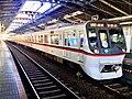 Toei Series 5300 5319F 60th Anniversary Headmark in Yotsugi Station 02.jpg