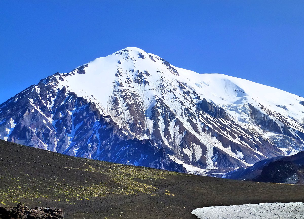 The highest mountain in Russia