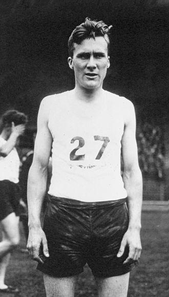 Tom Evenson - Tom Evenson in 1933