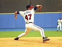 Tom Glavine Pitching 1993