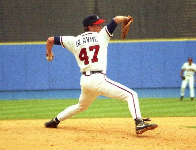 Tom Glavine Pitching 1993