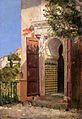 Tom Roberts, 1883 - A moorish doorway.jpg