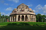 The tomb of Mohammed Shah known as Mubarak Khan- Ka-Gumbaz