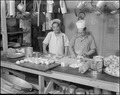 Topaz, Utah. Chefs of Japanese ancestry making apple turnovers for the evening meal at this relocat . . . - NARA - 538671.tif