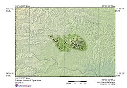 Mountains In Oklahoma Map.Wichita Mountains Wikipedia