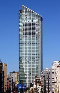 Toranomon Hills Skyscraper in Tokyo