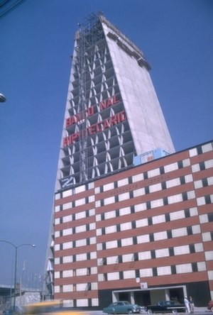 Mario Pani - Image: Torre Banobras, Mexico City, by Mario Pani
