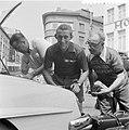 Tour de France , in Charleroi, de Nederlandse ploeg. Wout Wagtmans , zijn fiets , Bestanddeelnr 908-7407.jpg