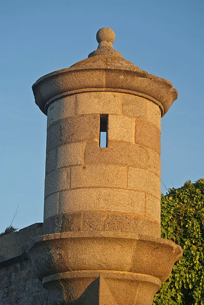North-West Turret of the La Hougue fortification (France, Normandy)